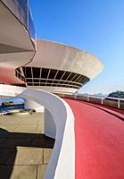 Niteroi Contemporary Art Museum MAC, Niteroi, State of Rio de Janeiro, Brazil.