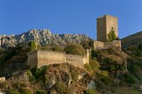 La Yedra Castle. Cazorla. Jaen province. Region of Andalusia. Spain. Europe.