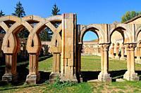 Romanesque cloister of San Juan de Duero. Soria. Castilla y León. Spain