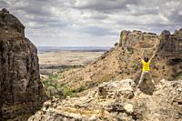 Isalo National Park, Ihorombe Region, Southwest Madagascar, Africa.