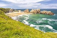 Arnia beach, Liencres, Cantabria, Spain.