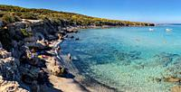 Baths Of Aphrodite coast, Neo Chorio, Cyprus, Cyprus