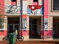 Calle Ocho Building. Little Havana. Miami.
