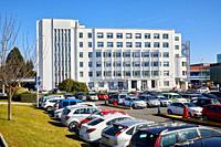 Hospital Provincial building, Hospital Donostia, San Sebastian, Gipuzkoa, Basque Country, Spain