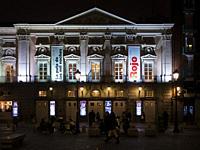 Teatro Español en la Plaza de Santa Ana. Madrid. España.