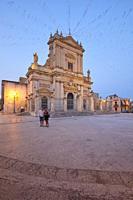 The Basilica di Santa Maria Maggiore in Ispica, Sicily, Italy.