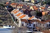 Urbanization in Aranjuez. Madrid. Spain. Europe.