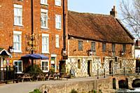Old Mill Hotel Salisbury England UK.