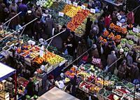 Street Market. Milan. Italy.