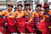 Peru, Lima, local festival.