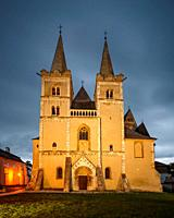 St Martin's Cathedral in the ecclesiastical town of Spisska Kapitula in eastern Slovakia.