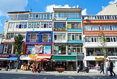 Halitaga caddesi, Kadikoy, Istanbul, Turkey, Asian side,.