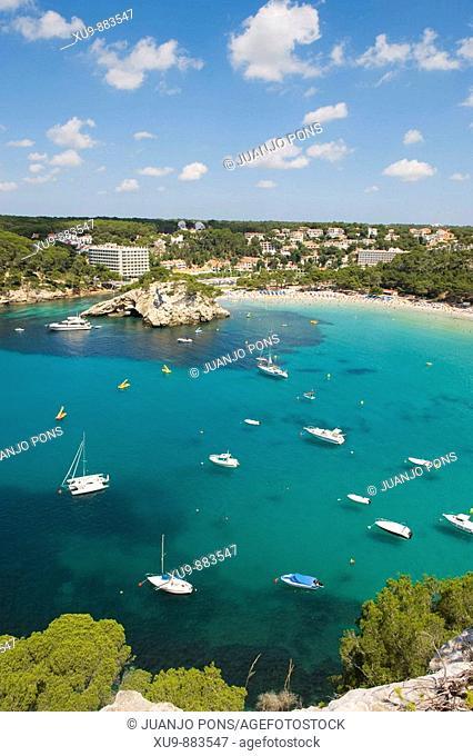 Cala Galdana, Minorca, Balearic Islands, Spain