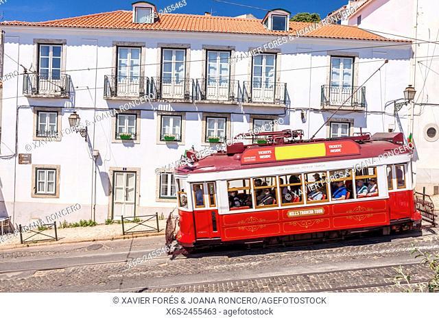 Largo Santa Luzia, Lisboa, Portugal