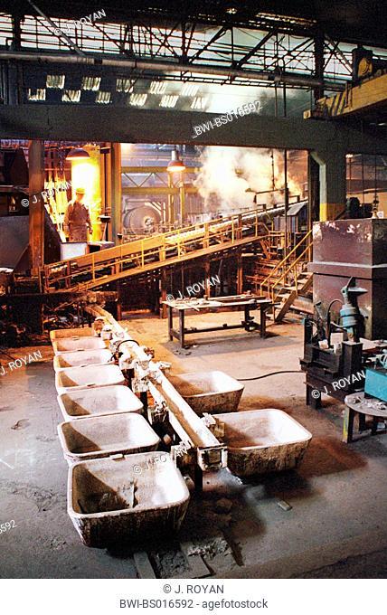 aluminum factory, Morocco