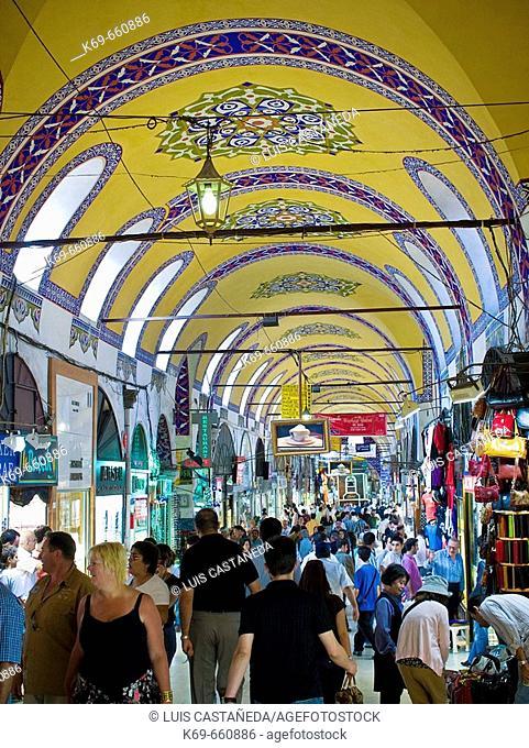 The Grand Bazaar. Istanbul. Turkey
