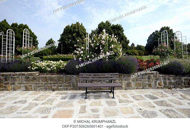Lidice Rose Garden won the prestigious Award of Garden Excellence for exceptional park from the organization World Federation of Rose Societies