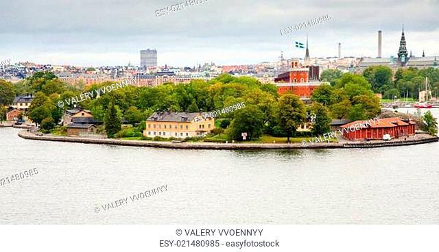 Kastelle castle on Kastellholmen island, Stockholm