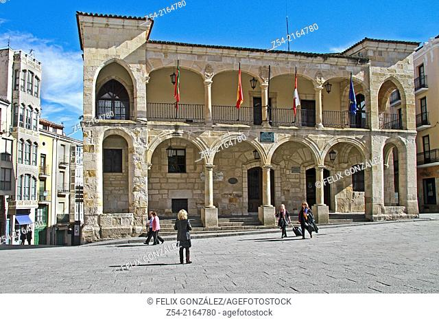 Zamora, Old Town Hall, Castile and Leon, Spain