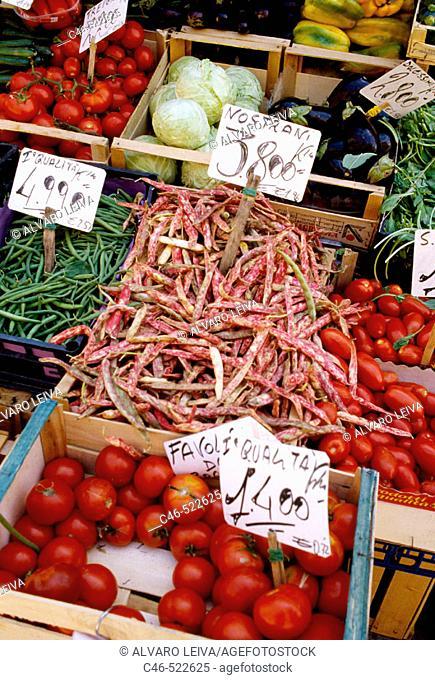 Campo della Pescaria market. Venice. Veneto, Italy