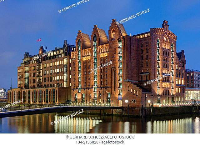 Martime Museum at Hamburg Harbour, Germany