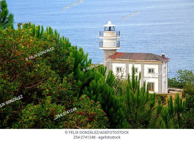Getaria Lighthouse Guipuzkoa, Basque Country, Spain