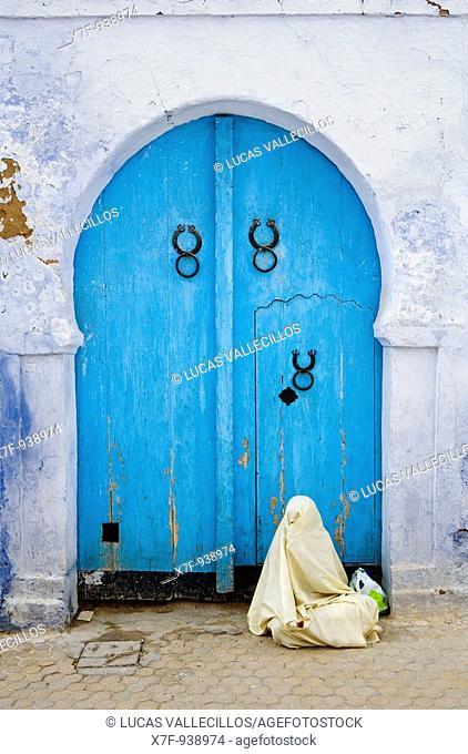 Tunez: Kairouan Medina Beggar