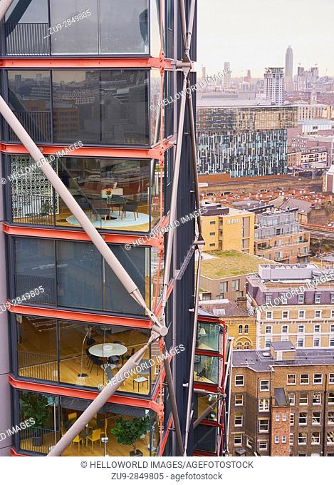 Neo Bankside luxury apartments, South Bank, London, England