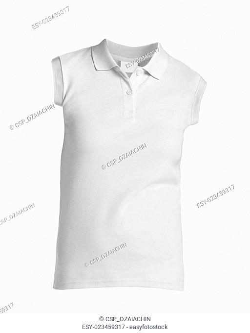 Front of a clean White T-Shirt