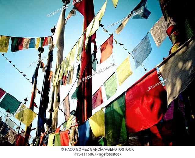 Swayambhunath (aka Monkey Temple), Kathmandu Valley, Nepal