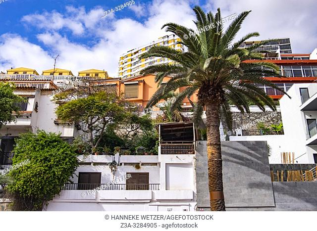 Modern architecture in Las Palmas de Gran Canaria, Canary Islands