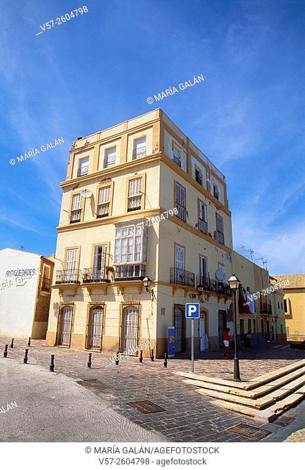 Building in Old Melilla. Melilla, Spain