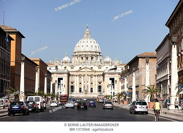 St. Peter's Basilica, Rome, Italy, Europe