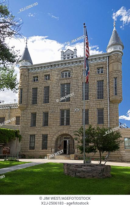 Rawlins, Wyoming - The former Wyoming State Penitentiary, which closed in 1981 after housing 13,500 inmates in its 80 years of operation