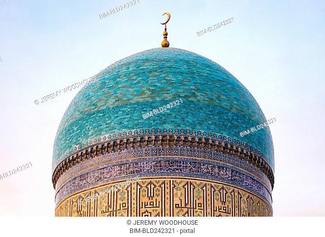 Dome of Kalon Mosque, Bukhara, Uzbekistan