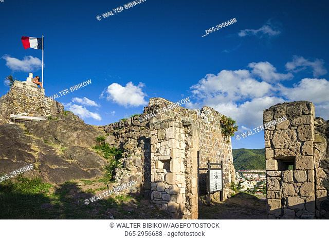 French West Indies, St-Martin, Marigot, Fort Louis