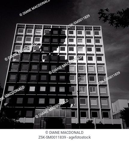 The Silhouette Building in Midtown Atlanta, Georgia