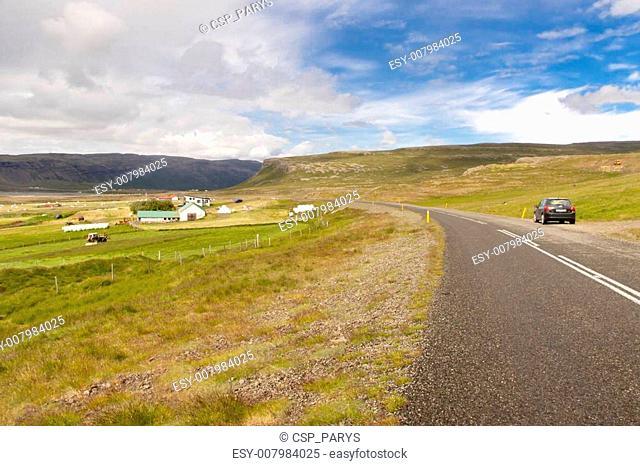 Asphalt route - Iceland