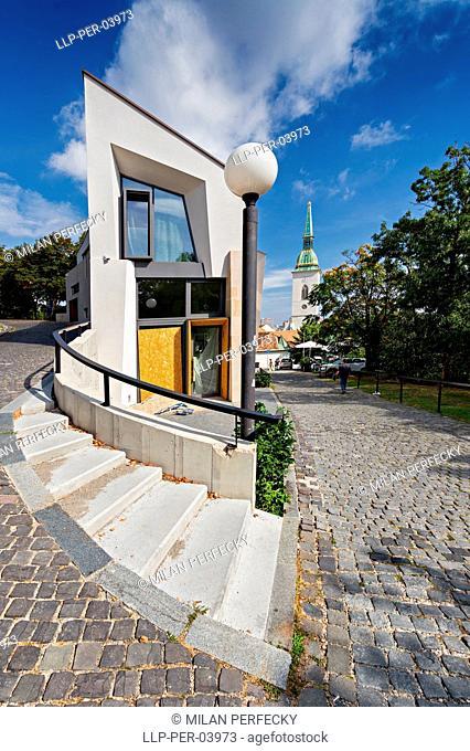 Beblaveho alley,Bratislava,Martin,Slovakia,St. Martin's Cathedral