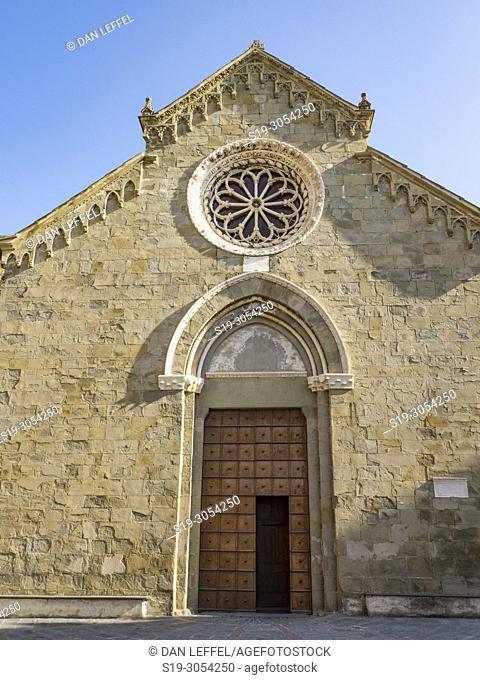 Italy, Cinque Terre, Manarola, Church