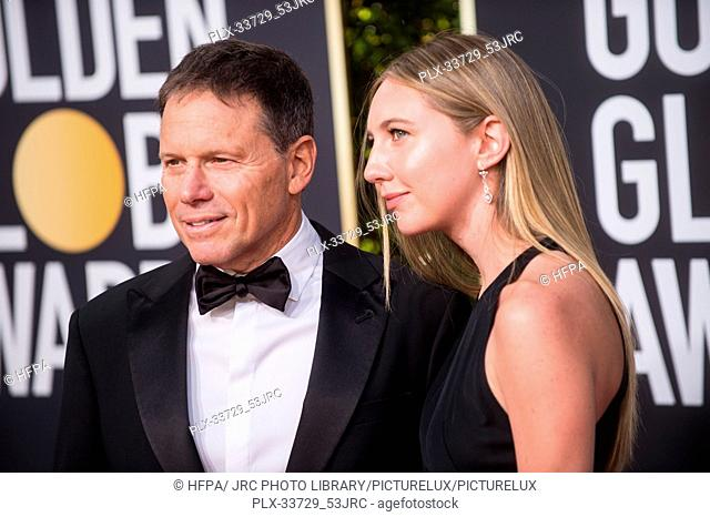 Bill Gerber and Emma Gerber attend the 76th Annual Golden Globe Awards at the Beverly Hilton in Beverly Hills, CA on Sunday, January 6, 2019
