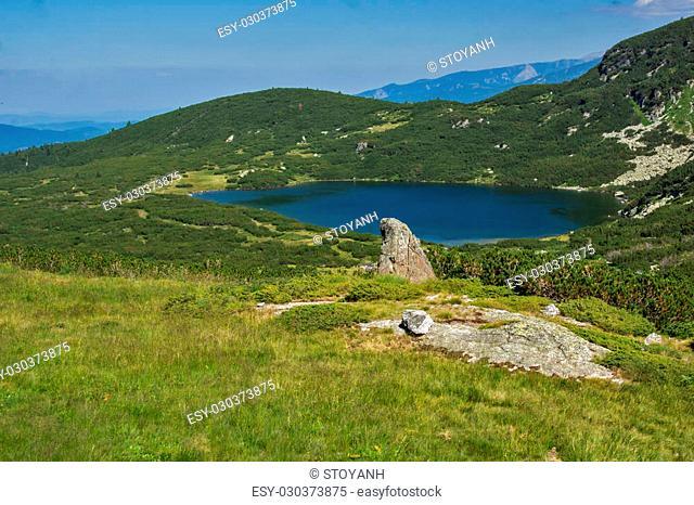 The Lower Lake, The Seven Rila Lakes, Rila Mountain, Bulgaria