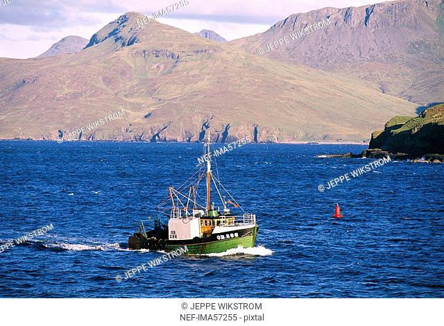 Canna Scottish Inner Hebrides Scotland Great Britain