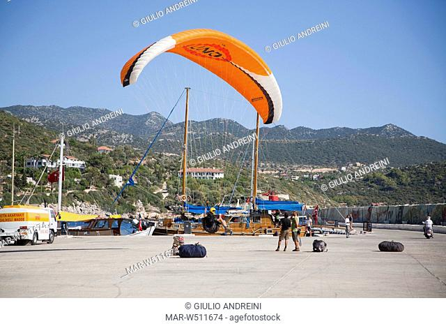 Paragliding Stock Photos and Images | age fotostock