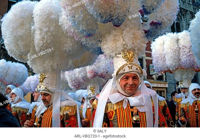 Binche carnaval,Wallonia