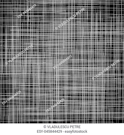 horizontal and vertical white lines on black background(pattern)