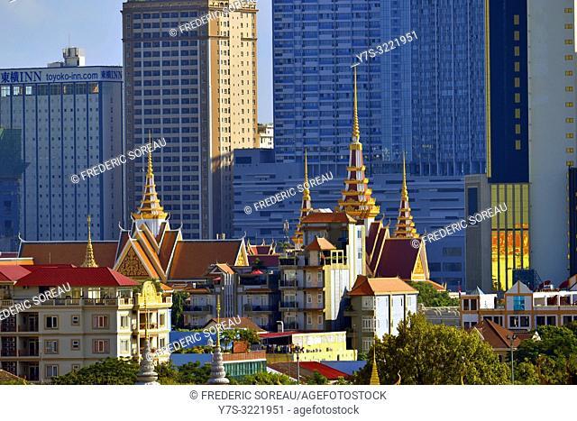Royal Palace of Cambodia,Phnom Penh,Cambodia,South east Asia