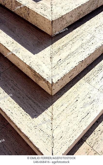 Steps. Zaragoza. Aragón, Spain