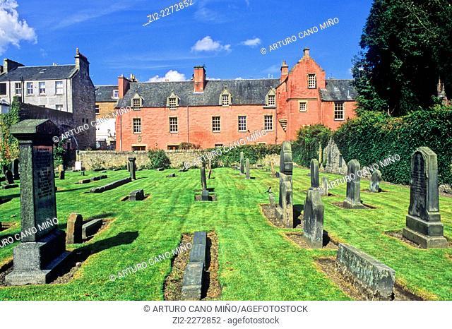 Cemetery. Dunfermline, Fife, Scotland, United Kingdom