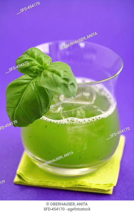 Gin Basil Smash Gin Basil Cocktail